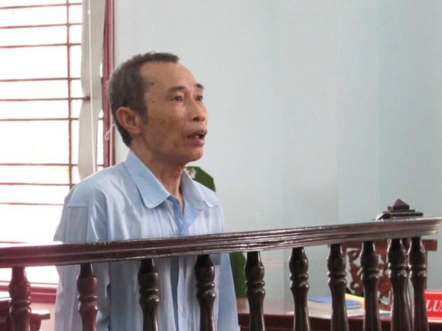 Bị cáo Tạo tại phiên tòa phúc thẩm ngày 18/8. Ảnh: NN