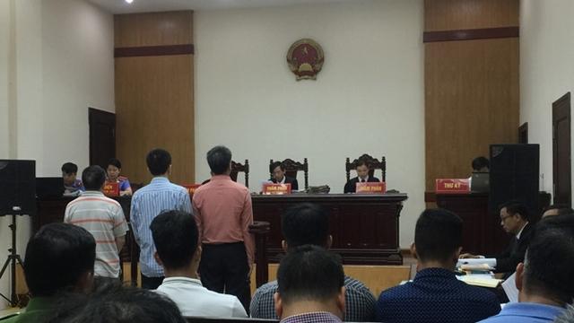 Phiên tòa phúc thẩm xét xử Giang Kim Đạt và đồng phạm