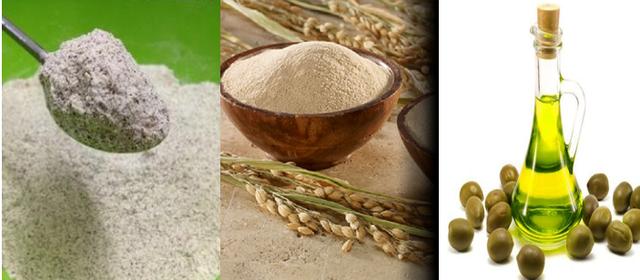 Tắm trắng bằng bột đậu đỏ và bột cám gạo