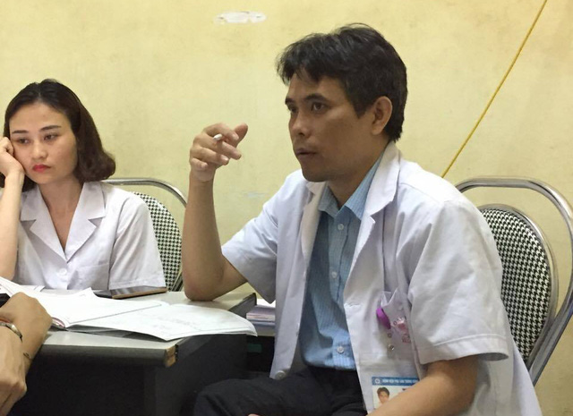 Phó giám đốc Trung tâm Hỗ trợ sinh sản quốc gia, bệnh viện Phụ sản TƯ Hồ Sỹ Hùng