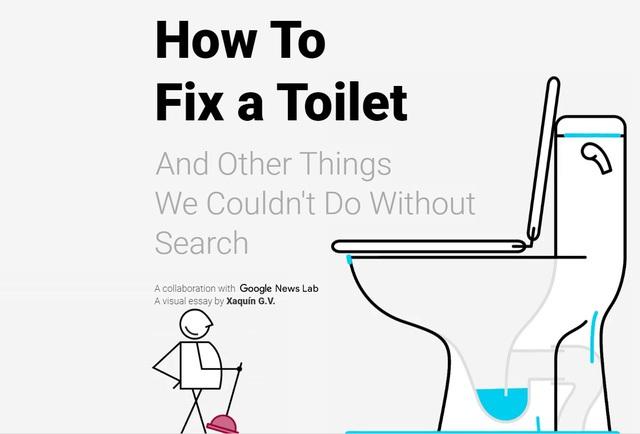 Hình ảnh giao diện trang chủ trang web How to fix a toilet - Ảnh chụp lại từ màn hình