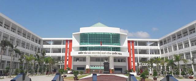 Trường THPT Võ Văn Kiệt. Ảnh: Nguyễn Lam.