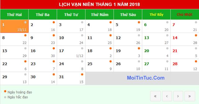 Ngày 1/1/2018 rơi vào thứ Hai nên về cơ bản người lao động được nghỉ 3 ngày liên tiếp