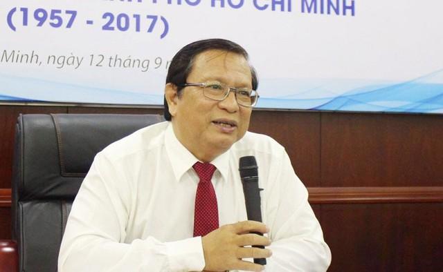 Ông Võ Văn Sen tại buổi họp báo.
