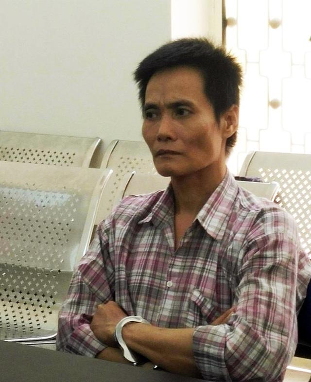 Bị cáo Trần Văn Đức tại phiên tòa.