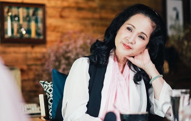 NSND Lan Hương cảm thấy hạnh phúc vì đã làm cho Bảo Thanh tỏa sáng trong Sống chung với mẹ chồng.