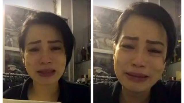 Thạc sĩ Nguyễn Hồng Nhung trong video livestream