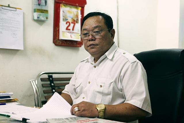 Ông Nguyễn Xuân Bách, Đội trưởng Đội Phục vụ Nhà tang lễ Phùng Hưng (Hà Nội).