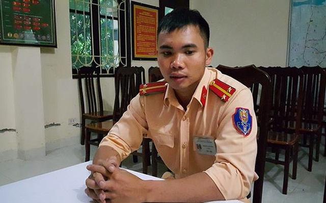 Trung uý Nguyễn Văn Tiến.