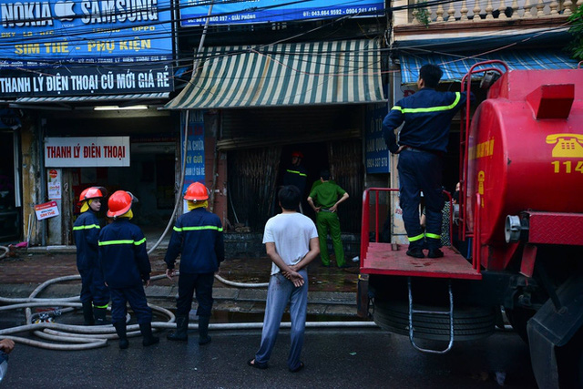 Căn nhà số 4 nơi xảy ra cháy.