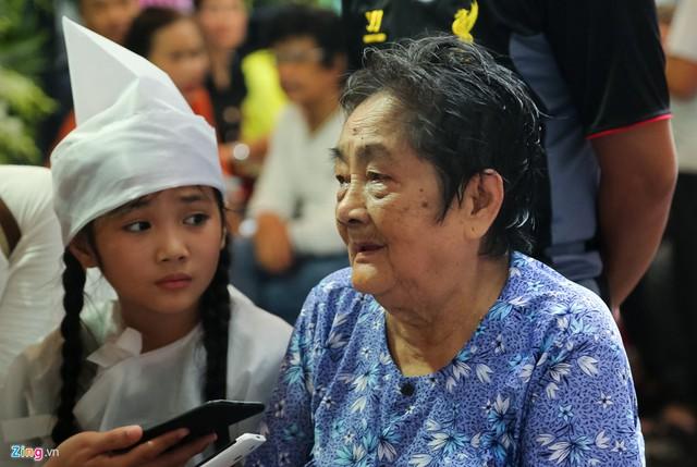 Bà Trần Thị Hui - mẹ nghệ sĩ Khánh Nam. Ảnh: Bá Ngọc.