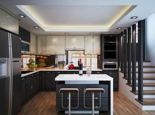 Những mẫu thiết kế tủ bếp vừa đẹp vừa hiện đại