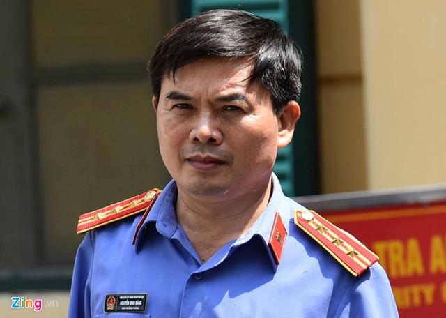 Ông Nguyễn Sinh Sáng - đại diện VKSND Hà Nội. Ảnh: Việt Hùng.