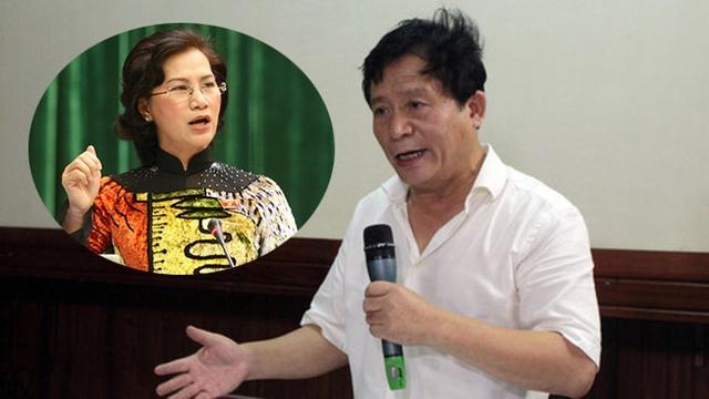 Chủ tịch Quốc hội cho rằng, việc ông chủ hãng phim gọi nghệ sĩ Quốc Tuấn là Chí Phèo là không thể chấp nhận được.