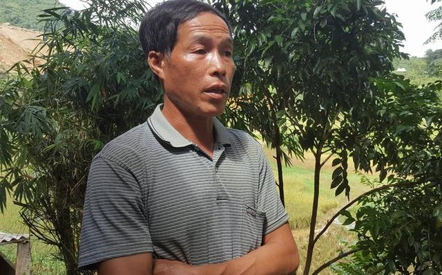 Ông Đinh Công Hưng trò chuyện với PV.