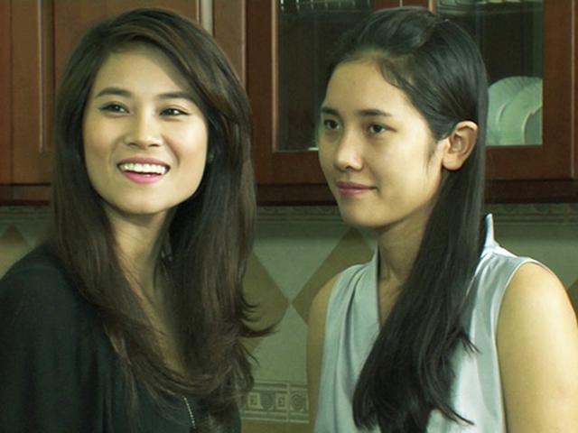 Nguyễn Hà (phải) vào vai Na trong phim Hoa cỏ may phần 3.