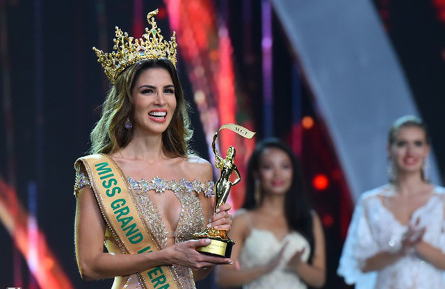 Vì sao Hoa hậu Peru giành ngôi vị cao nhất Miss Grand International 2017?