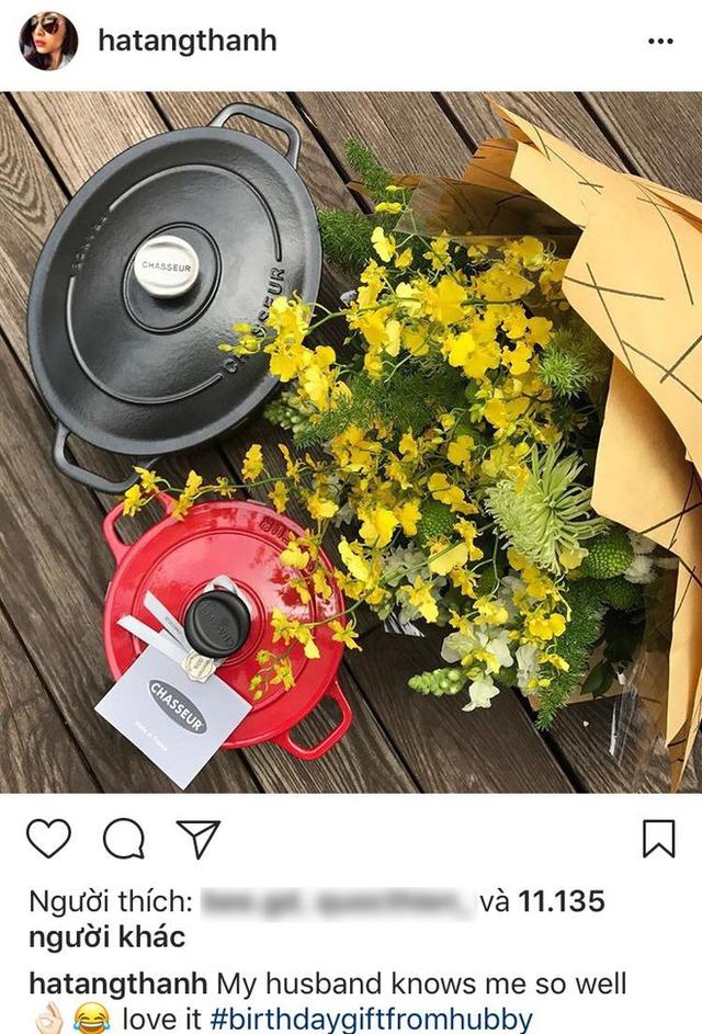 Bất ngờ với món quà sinh nhật của ông xã Tăng Thanh Hà dành tặng vợ