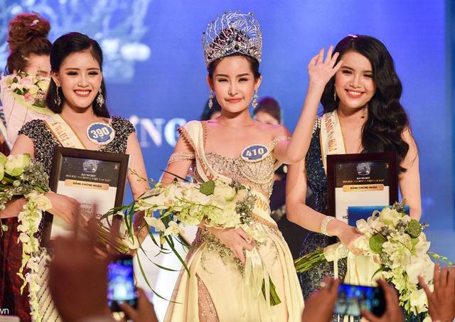 Dân mạng chê Hoa hậu Đại dương 2017 'miệng như bơm bị lỗi'