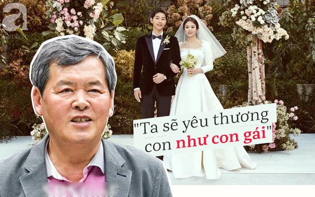 Song Hye Kyo thật may mắn khi có bố chồng tình cảm và dễ thương thế này