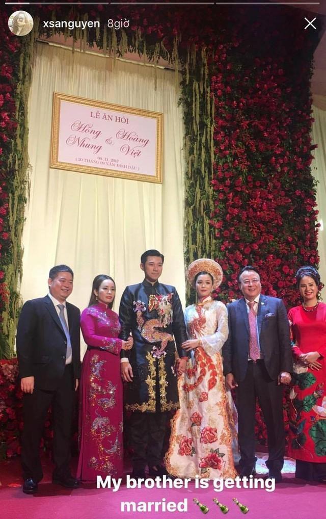 Lộ diện cô dâu xinh đẹp của thiếu gia Tập đoàn Tân Hoàng Minh