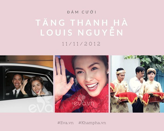 Bất ngờ hình ảnh chồng Thu Thảo từng bê tráp trong đám cưới kinh điển của Tăng Thanh Hà