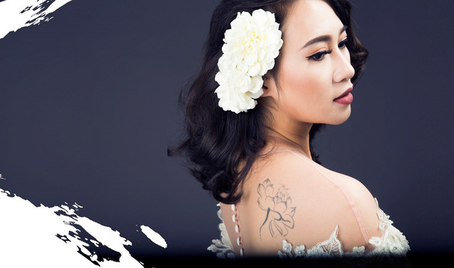 Khánh Linh được gọi với danh xưng họa mi của nhạc Việt.