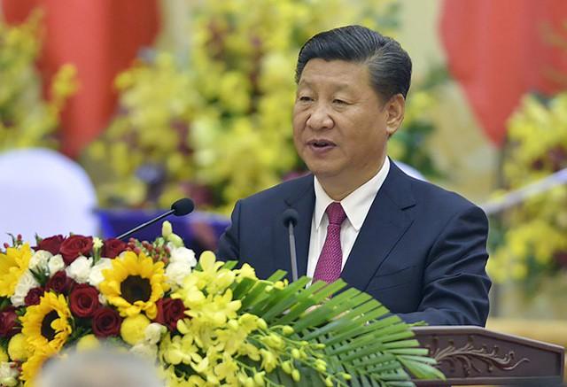 Chủ tịch Tập Cận Bình viếng lăng Chủ tịch Hồ Chí Minh