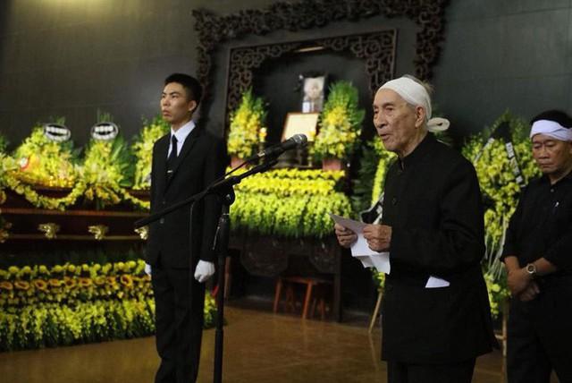 Ông Trịnh Lương, con trai trưởng của cụ Hoàng Thị Minh Hồ đã nói lên di nguyện cuối đời của mẹ mình