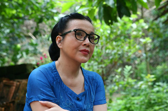 Tạo hình của Em bé Hà Nội Lan Hương trong phim Sống chung với mẹ chồng.
