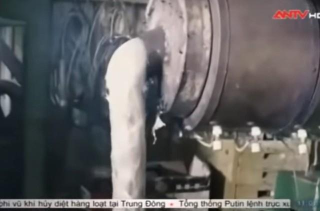 Ảnh cắt từ video của ANTV