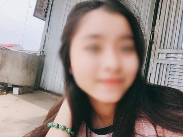 Hình ảnh nữ sinh Lê Thị X. trước đó.