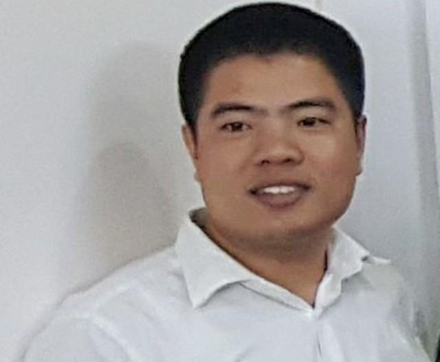 Anh Lê Hồng Quân lái xe taxi chở khách từ Hà Nội về Ninh Bình rồi mất tích bí ẩn (ảnh gia đình nạn nhân cung cấp).
