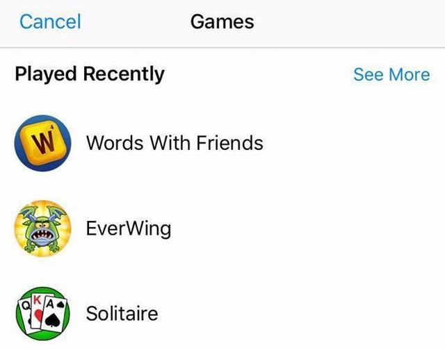 Chơi game với bạn bè ngay trên Facebook Messenger.