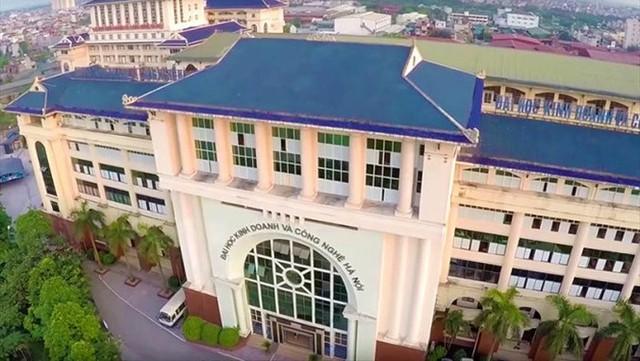 Trường ĐH Kinh doanh và Công nghệ Hà Nội. Nguồn: hubt.edu.vn