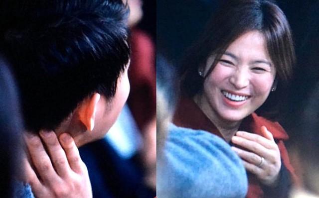 Song Hye Kyo, Song Joong Ki tình cảm đi nghe nhạc