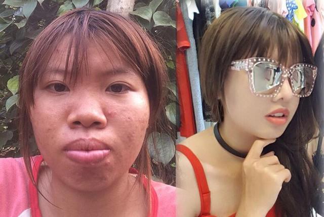 Cô gái đầu tiên được nhắc đến ở đây là Quách Thị Kim Phượng, sinh năm 1996. Cô gây xôn xao cộng đồng mạng thời gian qua vì chi ra hơn 150 triệu để đập đi xây lại.