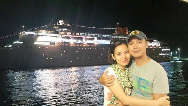 Nhan sắc xinh đẹp bà xã kém 14 tuổi của MC Anh Tuấn