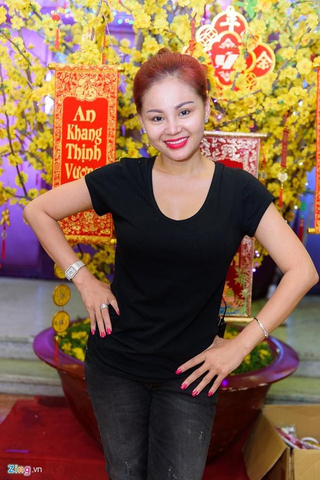 Lê Giang hạnh phúc vì hai con Duy Phước và Lê Lộc theo nghề diễn. Ảnh: Nguyễn Bá Ngọc.