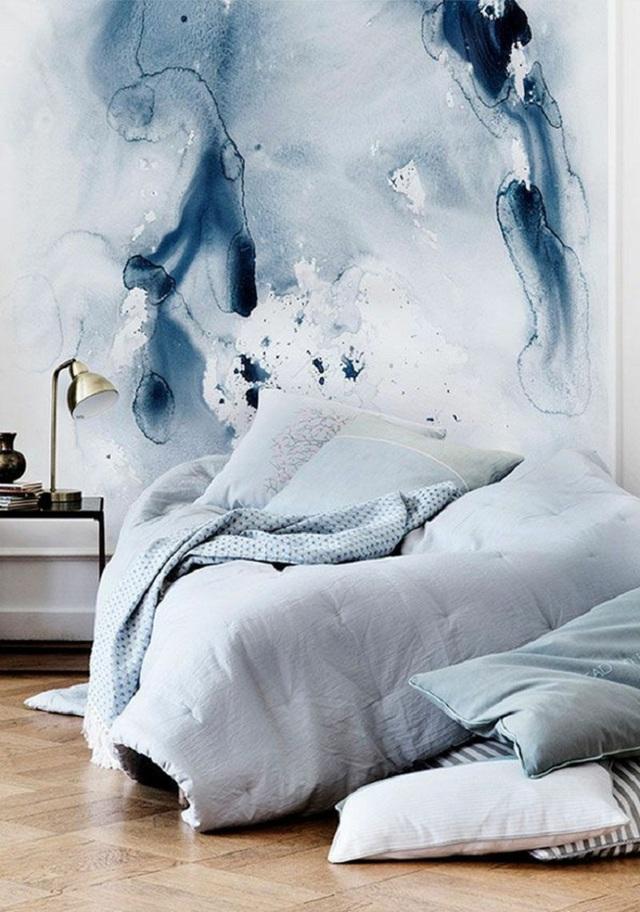Phong cách sơn tường màu nước dù mới xuất hiện chưa được bao lâu nhưng lại rất được yêu thích, rất là các bạn trẻ.