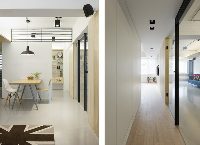 Kết hợp màu sắc hài hòa là một trong những yếu tố mang đến thành công trong trang trí căn hộ.