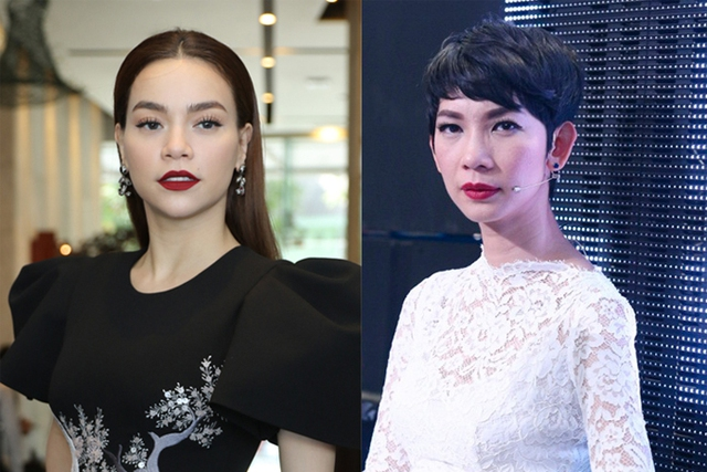 Hai đàn chị Hồ Ngọc Hà và Xuân Lan bị dư luận cho là những nhân vật Minh Hằng ám chỉ.