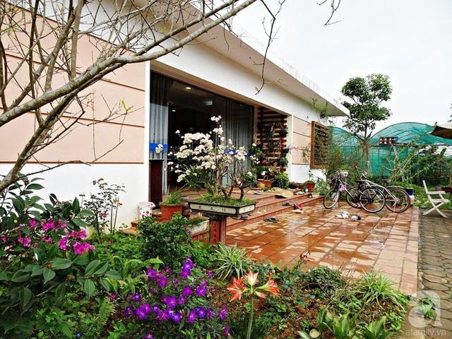 Ngôi nhà vườn xinh xắn được thiết kế đơn giản nhưng vô cùng tinh tế, gần gũi với tự nhiên.