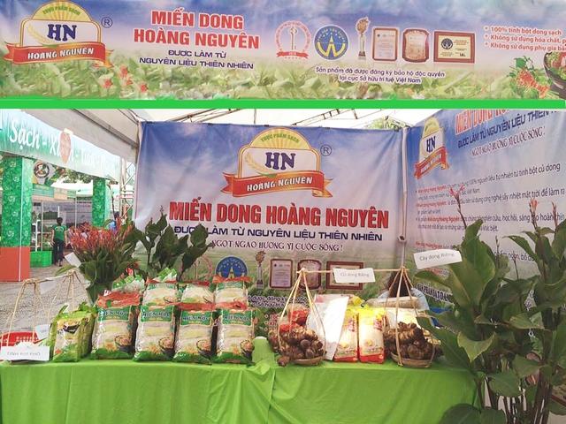 Miến dong Hoàng Nguyên tại hội chợ