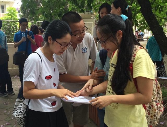 Sở GD&ĐT Hà Nội cấm các trường vận động học sinh không thi lớp 10.