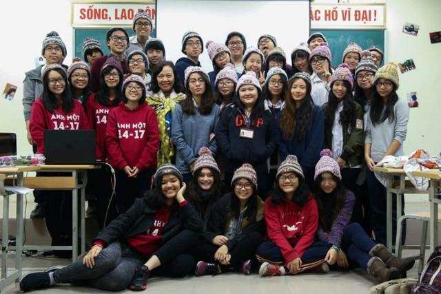 Vũ Thảo Phương chung lớp với Nguyễn Đình Tôn Nữ - tân sinh viên của ĐH Harvard.