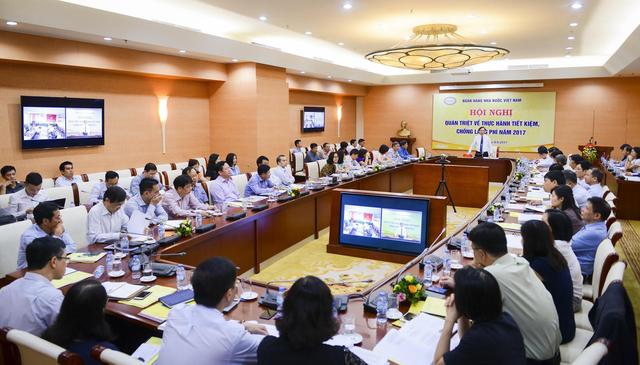 Phó Thống đốc Ngân hàng Nhà nước Việt Nam Đào Minh Tú phát biểu tại hội nghị.