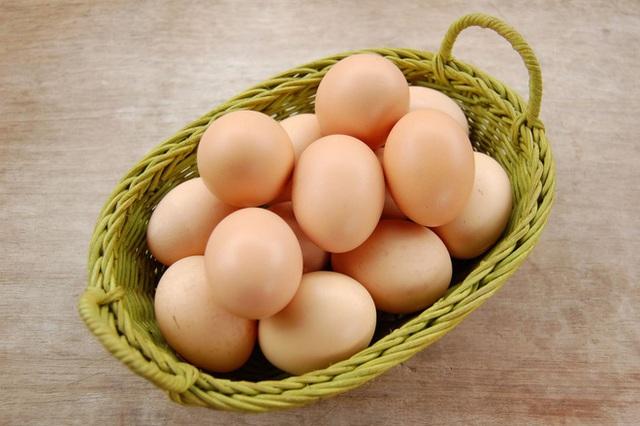 Trứng không nên đặt nằm ngang (Ảnh: Internet)