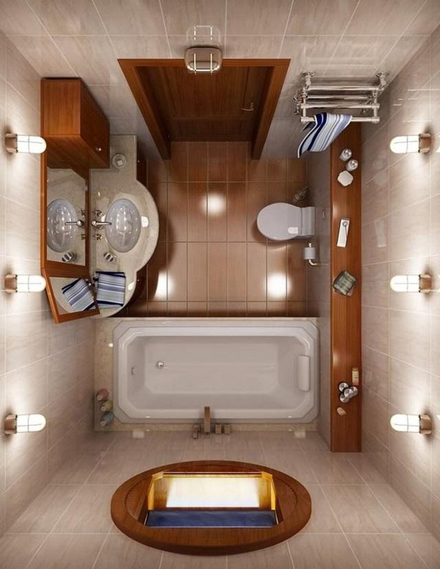 Tùy theo không gian đặc thù của nhà mình mà bạn nên có ý tưởng thiết kế sao cho thật phù hợp.