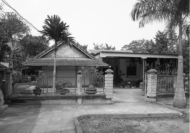 Hình ảnh ngôi nhà cũ...